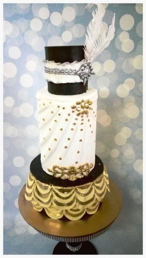 gatsby themed wedding cake 290 best images about deco cakes on great 14651