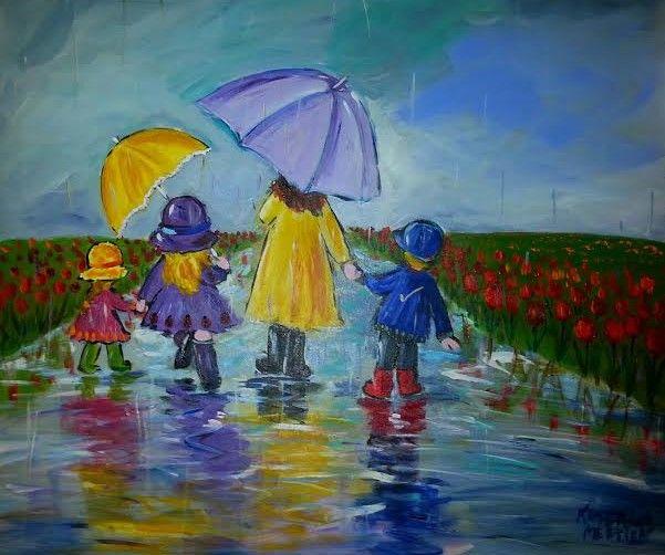 85 best katerina mertikas art images on pinterest canvas for Teaching kids to paint on canvas