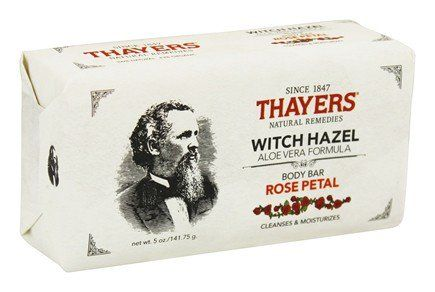 thayers witch hazel rose soap