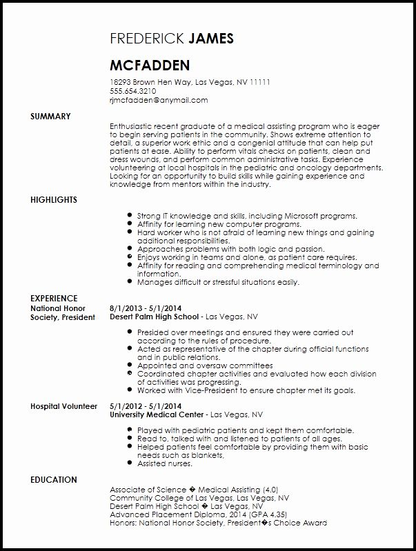 Medical Office Assistant Job Description Resume Lovely Free Entry