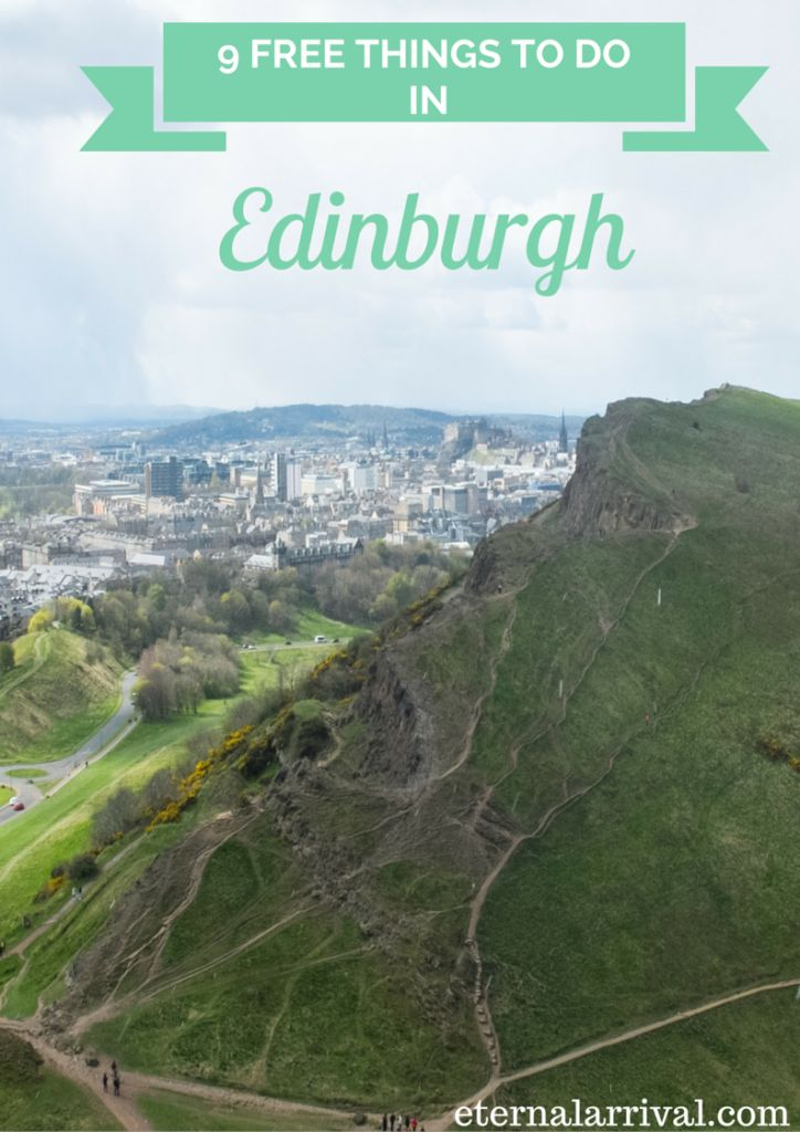Traveling in the UK is expensive, and Edinburgh will never be a budget destination. Luckily, there are so many amazing free things to do in the city so you can save your pounds for the important stuff, like a glass of scotch (try it from the Highlands or the Islands!). Here are just 9 ideas!