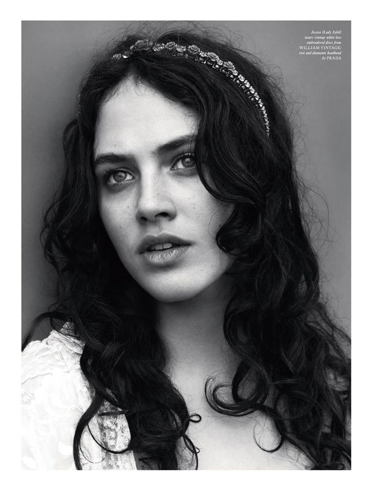 Jessica Brown-Findlay: Dance With a Stranger - Love #8 by Mert & Marcus, Fall/Winter 2012-13