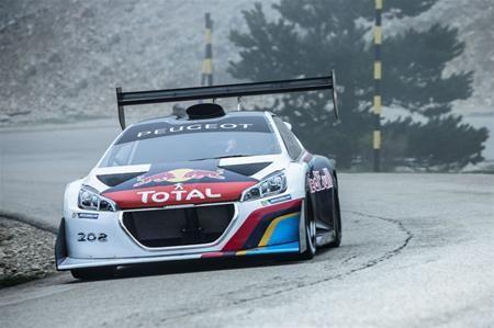 Peugeot's Pikes Peak conqueror hauls in awards