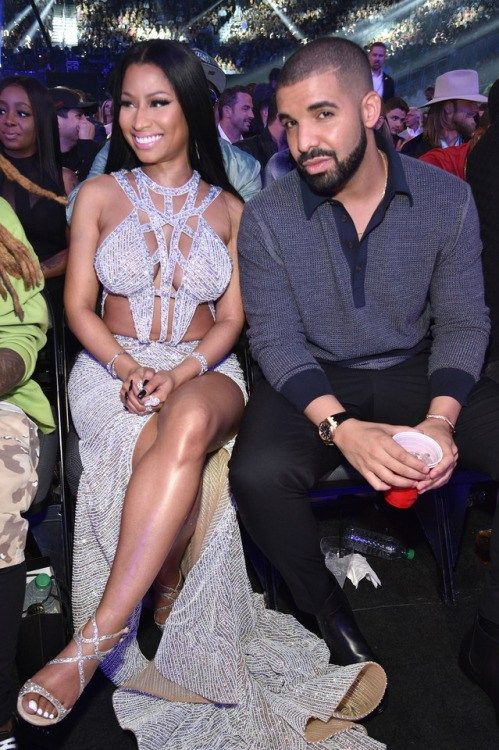 celebsofcolor: Nicki Minaj and Drake at the 2017 Billboard