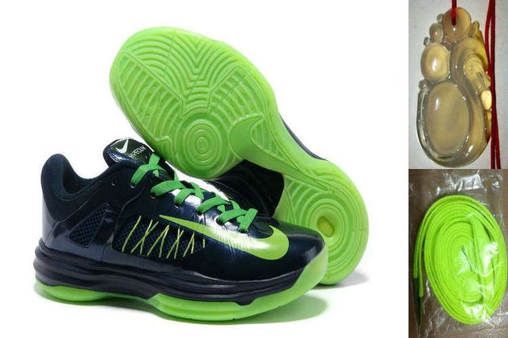 Free Shipping to Buy Nike Hyperdunk 2012 Low Dark Obsidian Electric Green  554671 402 with Western