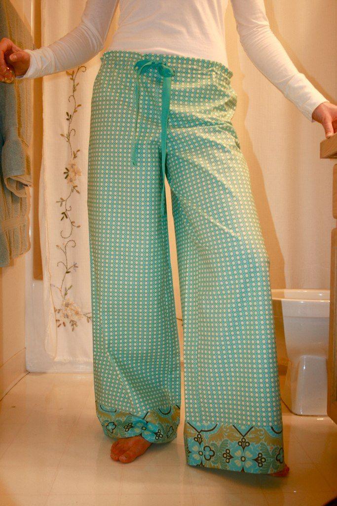 Amy Butler's Wide-Leg Lounge Pants