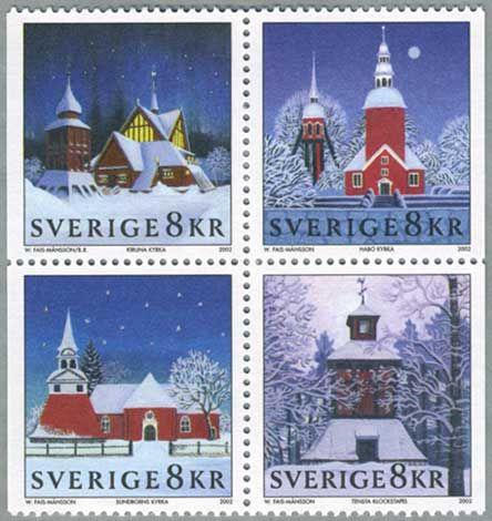 ◇Sweden 2002- churches