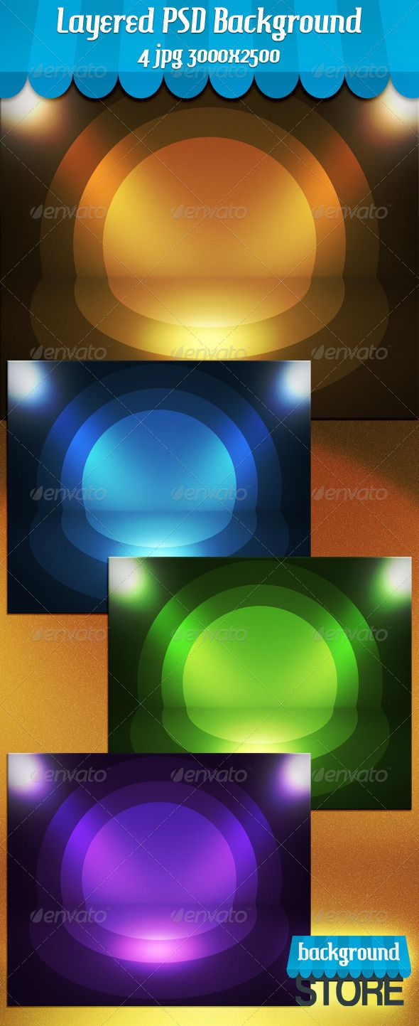 Retro Spotlight Stage #GraphicRiver Retro Spotlight Stage is Editable Layered psd file Customizable Background 3000×2500px 150dpi + 4 jpg, Easy to edit Colors Perfect for product presentations, print and web. Created: 24May13 GraphicsFilesIncluded: PhotoshopPSD #JPGImage HighResolution: Yes Layered: Yes MinimumAdobeCSVersion: CS5 PixelDimensions: 3000x2500 PrintDimensions: 25.4x21.2 Tags: aged #austellung #backdrop #background #brown #design #destroyed #dungeon #empty #floor #gallery…