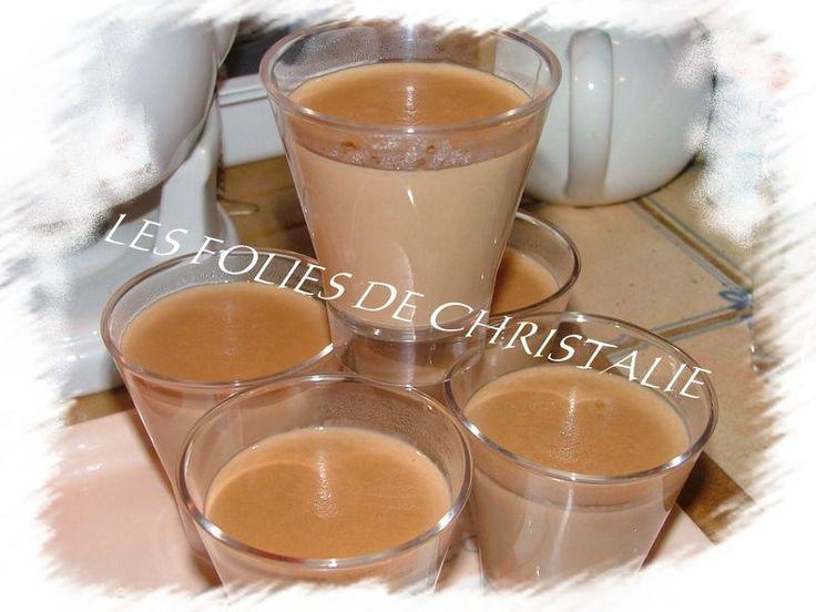 Crème façon Montblanc pralinoise