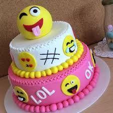 Resultado de imagen para tortas con emojis