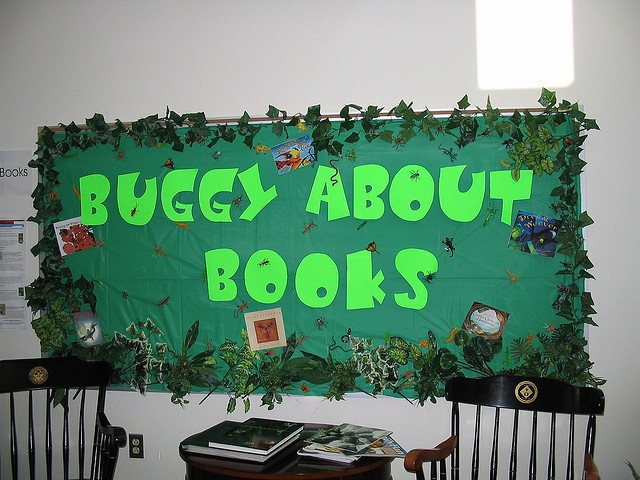 Library Bulletin Board by awilliam701, via Flickr