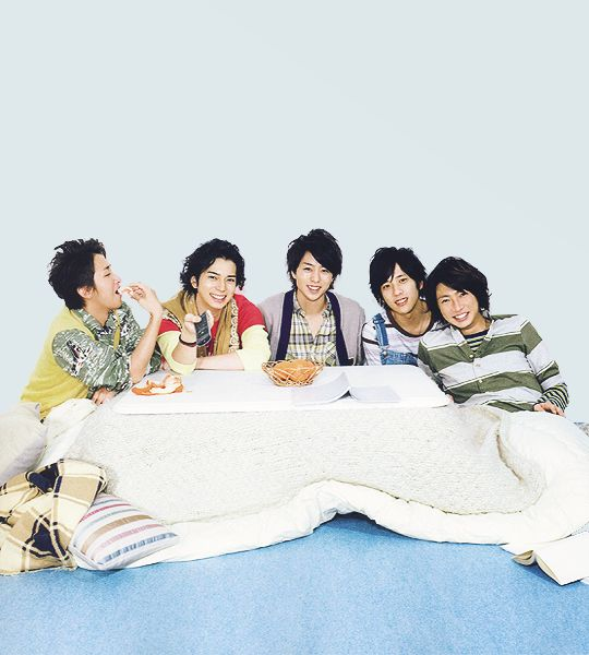 Arashi? LA CHANCE un kotatsu !!!