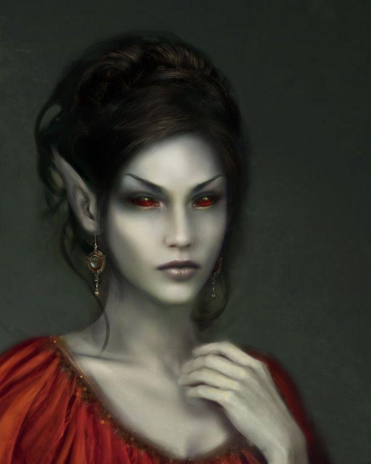 Dark Elf Elder Scrolls :)