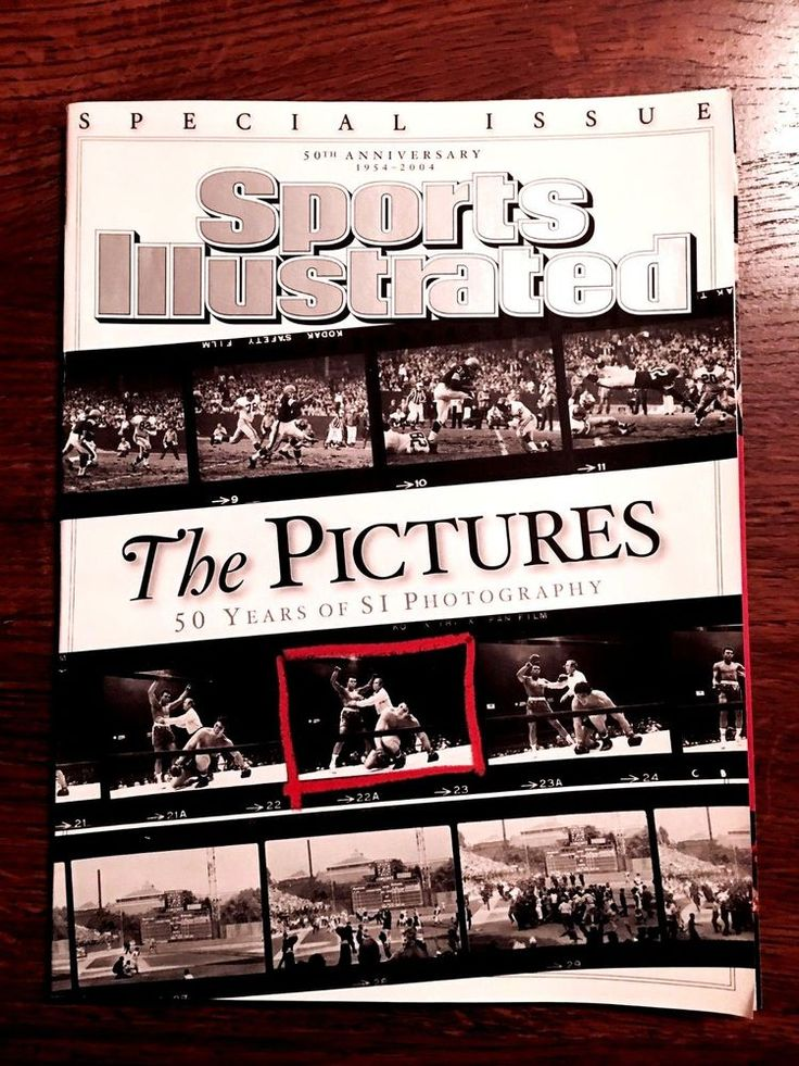 "Sports Illustrated ""THE PICTURES"" 50th Anniversary Special Issue MUHAMMAD ALI  