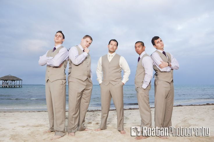 Google Image Result for http://www.roatanphotography.com/images/blog-updates/palmetto-bay-resort-beachfront-wedding-photos/groomsmen_pose_with_groom_on_beach_after_wedding.jpg