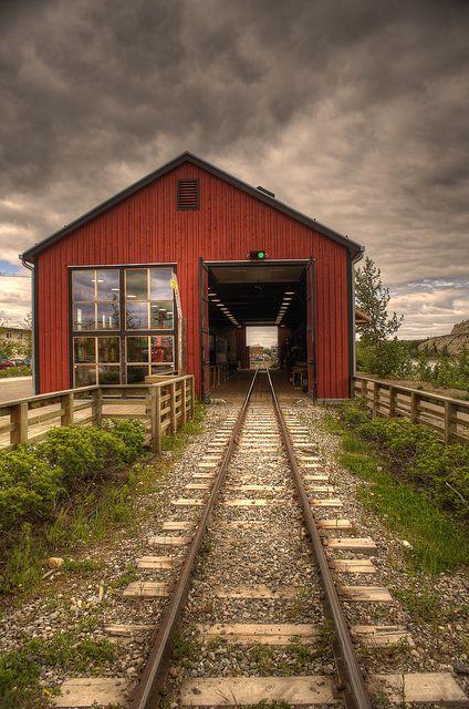 Railway Whitehorse - Yukon Territory, Canada