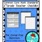 This 11 page document includes:  -a graphic organizer for each standard that includes the standard, it's description, boxes to note dates taught, a...