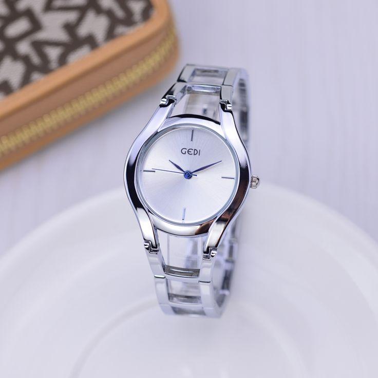 GEDI Fashion Rose Gold Bracelet Watches Women Top Luxury Brand Ladies Quartz Watch Famous S-Shock Watch Relogio Feminino Hodinky