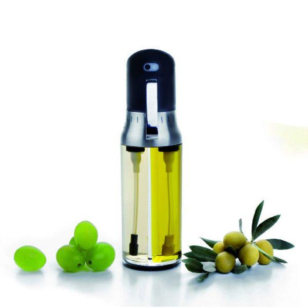 Aceitera  y vinagrera con atomizador
