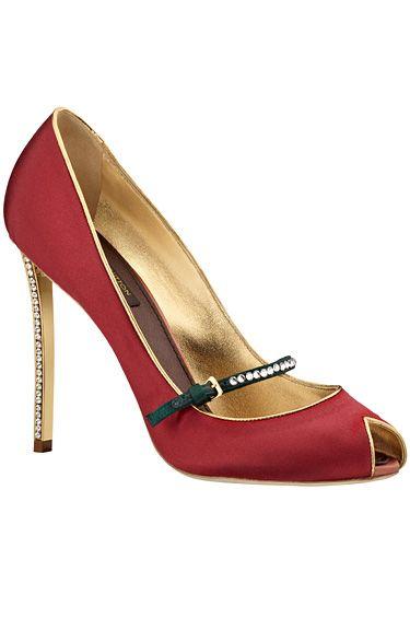 Louis Vuitton- zapato rojo