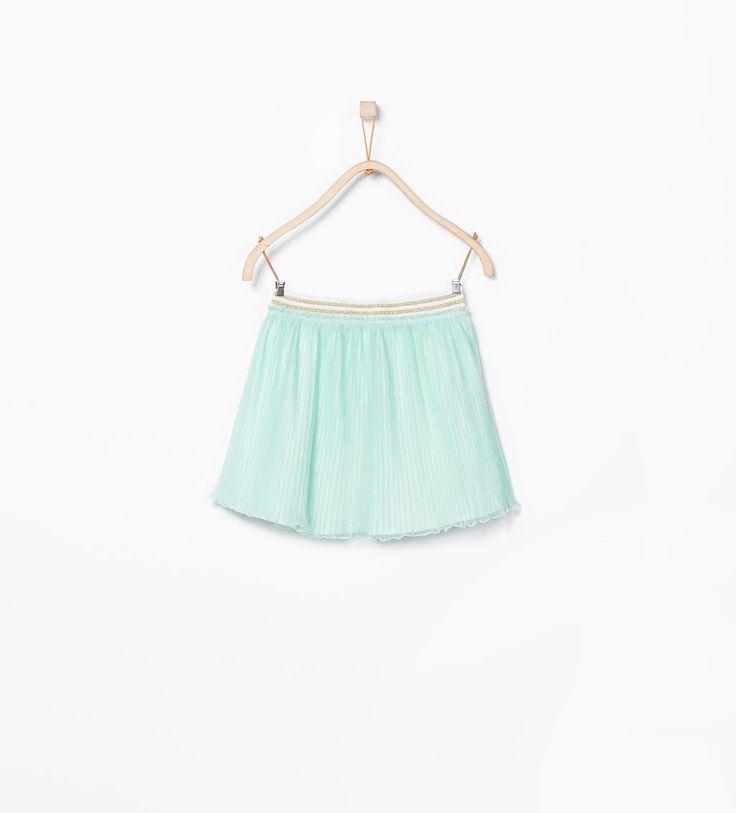 Imagen 1 de Falda plisada de Zara