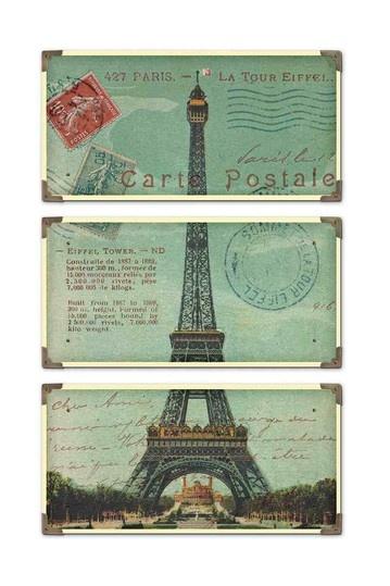 Mortise & Tenon Eiffel Tower Wall Art $181
