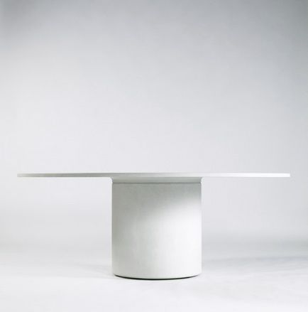 Martin Szekely | Table circulaire Concrete