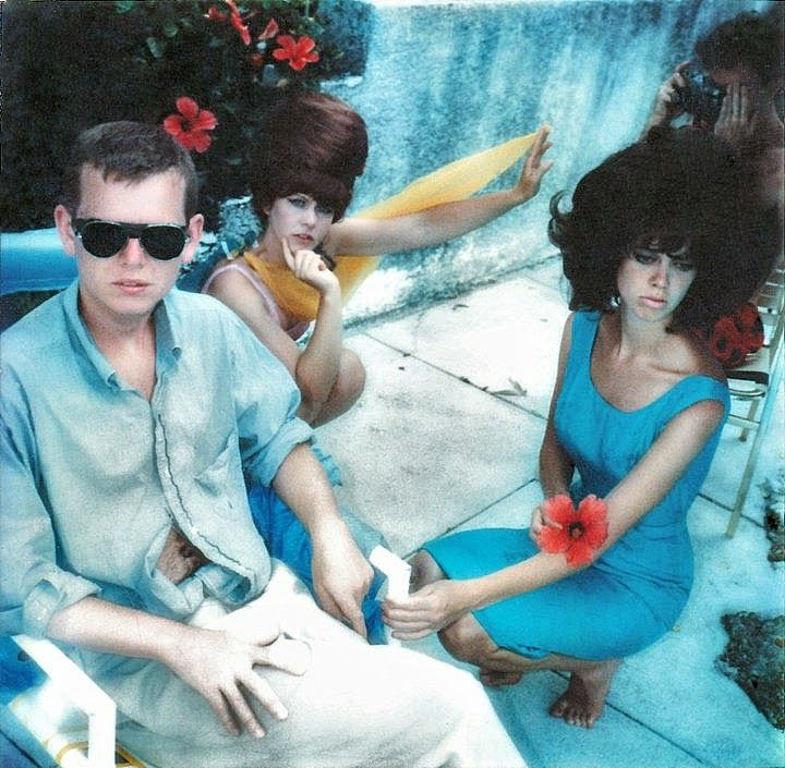 Ricky Helton Wilson Kate Pierson Cindy B 52s Sunglasses 1979