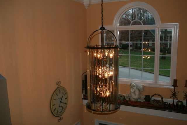 How Big Should Foyer Chandelier Be : Best images about foyer chandeliers on pinterest
