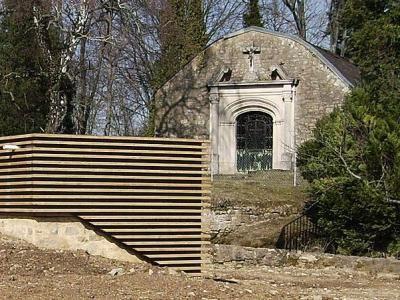Rodemack chapelle du château fort