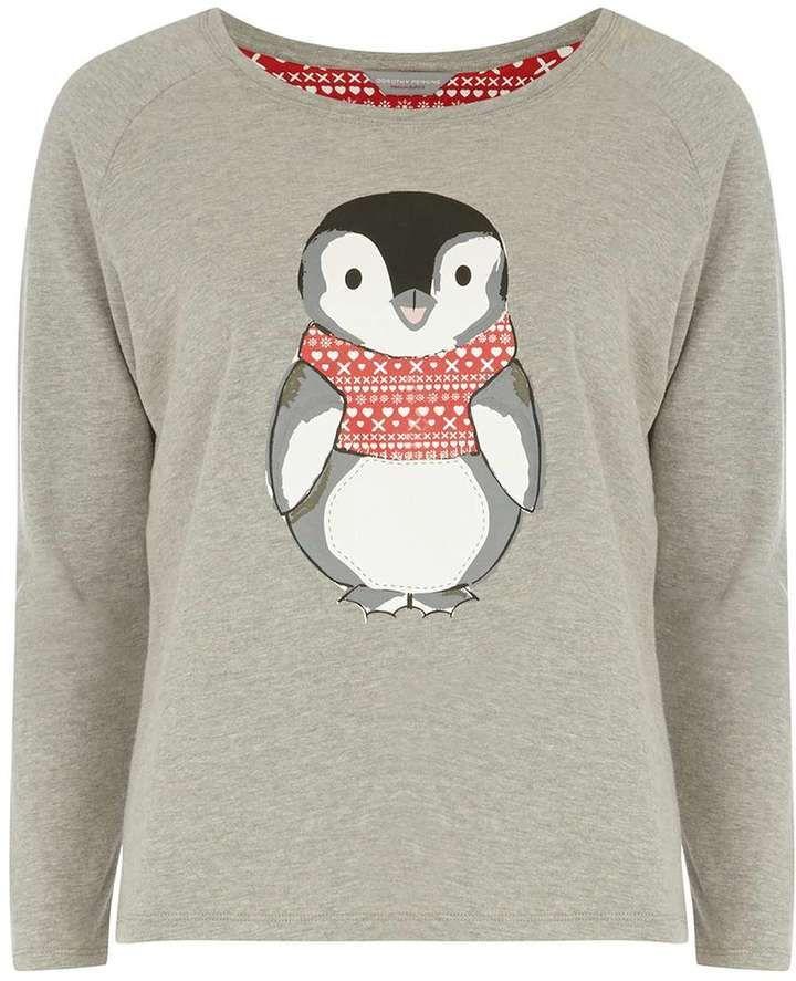 Petite penguin sweat top
