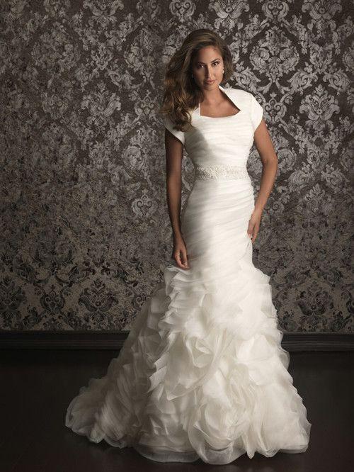 modest wedding dresses | Allure Modest Wedding Dresses – Style M492 | china wedding dress ...