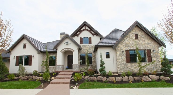 69 best stucco images on pinterest for How to install stone veneer over stucco