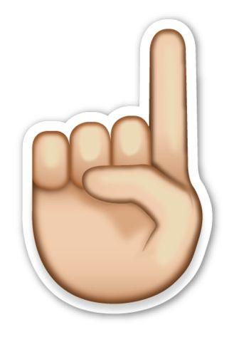 Image result for pointer finger emoji