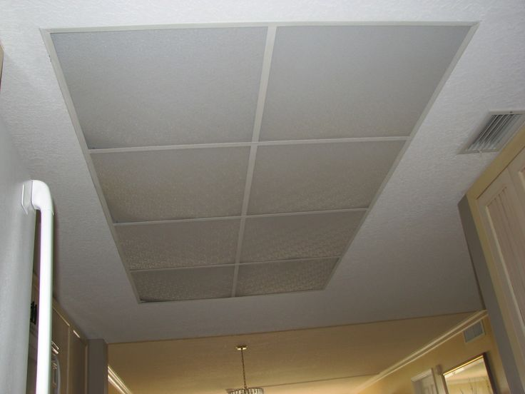 The 25 best drop ceiling lighting ideas on pinterest basement what to do with my old kitchen drop ceiling lighting mozeypictures Image collections