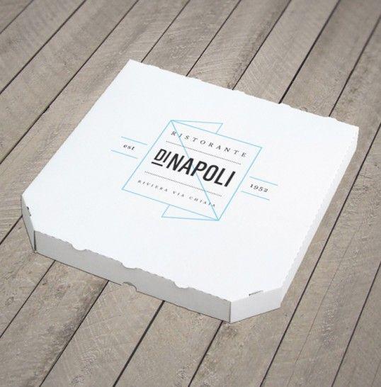 Ristorante Di Napoli / Jonathan Faust    —    #napoli #pizza #packaging #vintage