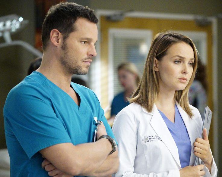 """Alex and Jo in Grey's Anatomy 13x06 """"Roar"""""""