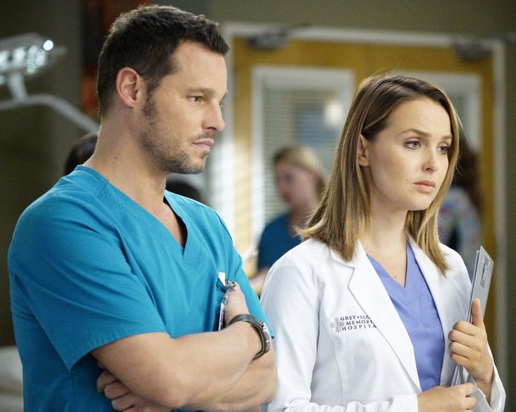 "Alex and Jo in Grey's Anatomy 13x06 ""Roar"""
