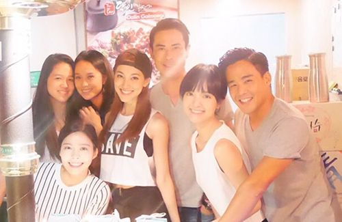 Kevin Cheng attended Grace Chan's 24th birthday party. Are they official now?