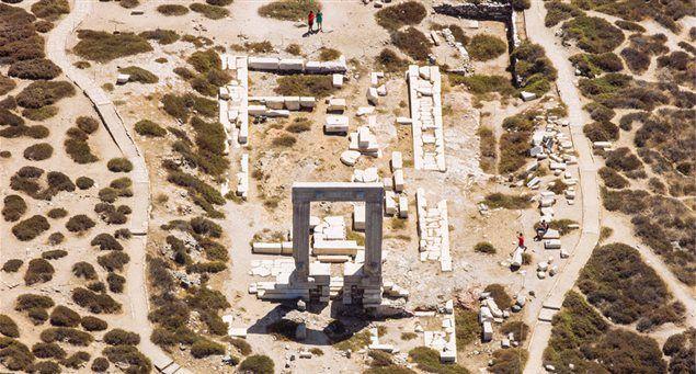 Sightseeing Snapshot: The Temple of Apollo   Naxos.gr