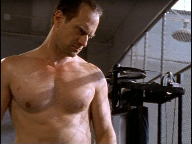 Christopher Meloni.  Sexy as hell.