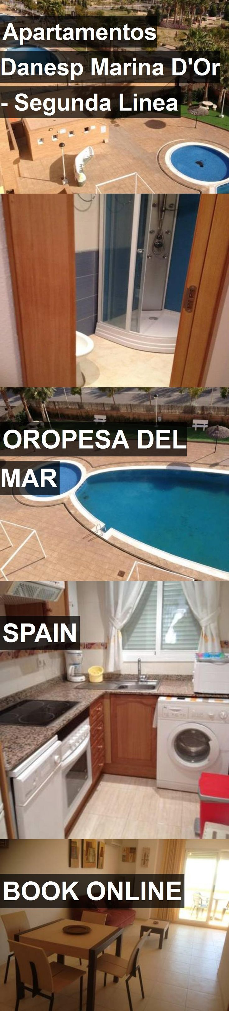 Hotel Apartamentos Danesp Marina D'Or - Segunda Linea in Oropesa del Mar, Spain. For more information, photos, reviews and best prices please follow the link. #Spain #OropesadelMar #travel #vacation #hotel