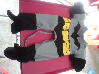 Batman and cookies!  @Optivion #Halloween ワンちゃんのハロウィンの衣装です(*^o^*)    てんとう虫やバットマンのコスチュームです!    可愛すぎ(≧∇≦)