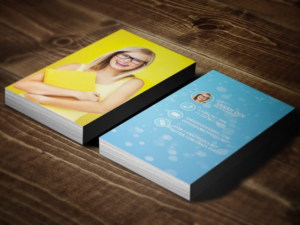 14 best business cards images on pinterest business card design free photographer business card reheart Choice Image