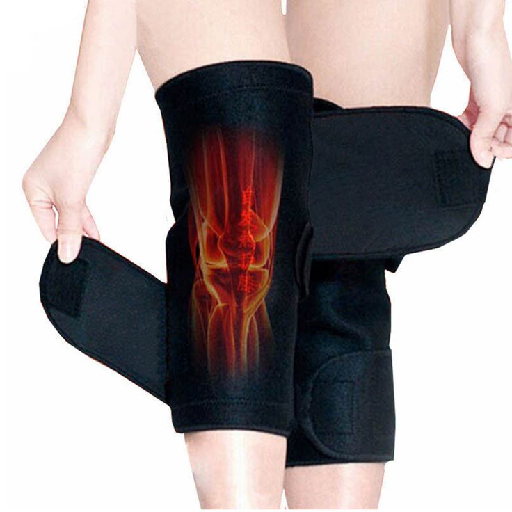 Tourmaline Self Heating Kneepad Magnetic Therapy Knee Support Tourmaline Heating Belt Knee Massager <3 Detailed information can be found by clicking on the image