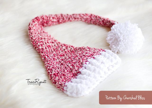 Adorable FREE Stocking Hat Crochet Pattern via ...