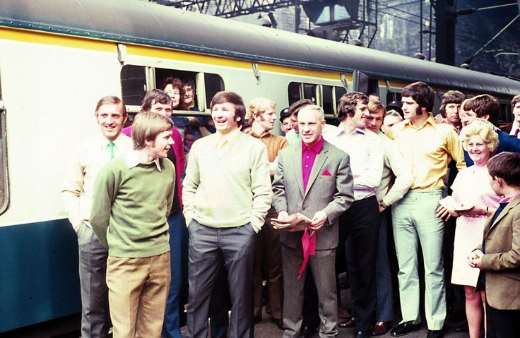 May 7 1971, on the way to the FA Cup Final against Arsenal