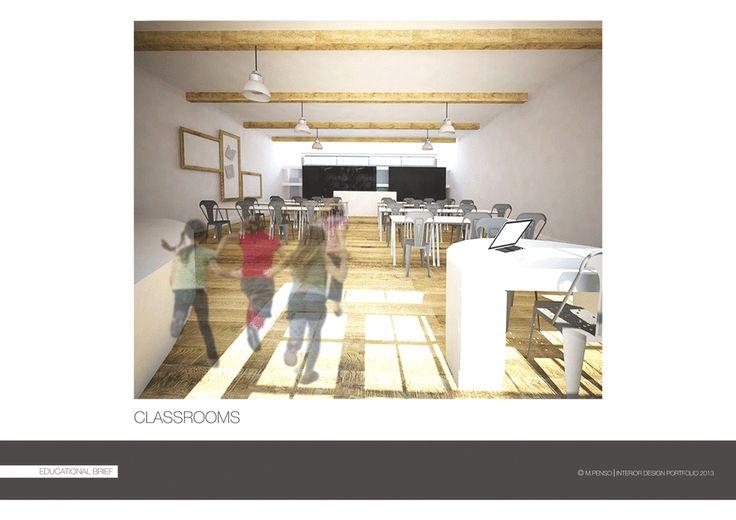 PORTFOLIO - Michelapenso #Education #Interior #Architecture #Contemporary #Country #Section #3D #Infographic #Presentation
