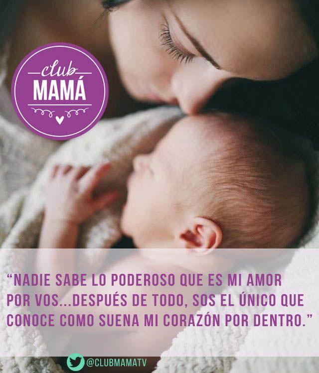 Nadie sabe lo poderoso que es mi #Amor por ti... #Hijos #Maternidad