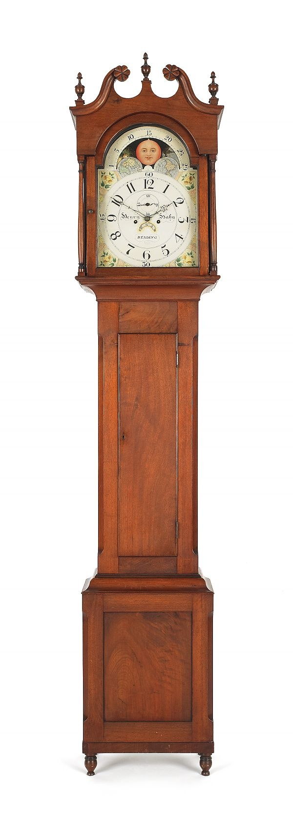 107 best clocks images on pinterest vintage clocks antique pook pook auction 19th century pennsylvania walnut case clock by henry hahn amipublicfo Images